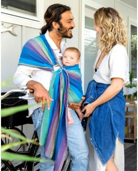 Organic Mesh Ring Sling - BONDI BLUES